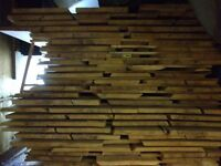 Timber – locally sourced beech: planked and cut to size, for joinery, worktops, etc