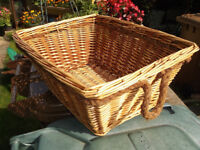 Basket Wicker Hamper Storage Laundry
