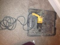 dewalt drill sds 240 volt good order will include 10 drill bits. view my other adds all sorts on
