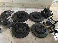 Golf r32 Audi A3 brake systems