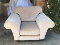 Kirkdale 3-seater Settee and Chair - mushroom colour