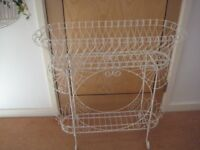 Victorian Style Wire Framed Jardinière
