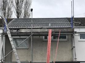 We offer roof replacements, roof repairs, gutter cleaning on pitched and flat roofs in Merseyside