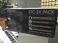 Microphone Sontronics STC-3X Pack Kit / with Sound Boothe