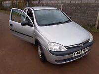 2001 Corsa 1.2 **ONLY 47K WITH NEW MOT**