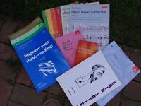 Assorted Music Books for Piano