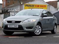 2008 REG FORD MONDEO EDGE 1.6cc 5 DOOR.