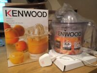 Kenwood Citrus Press Juicer - unused