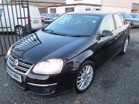 Volkswagen Jetta 2.0 SPORT TDI PD 4dr MANUAL + 1 OWNER FROM NEW + SERVICE HISTORY (black) 2008