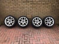 Genuine Audi A5 Speedline 18 inch Alloy Wheels with Winter Tyres