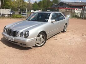 2000 Mercedes Benz E240 Automatic mot until Feb 19 affordable luxury motoring