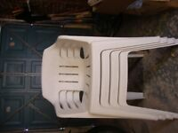 4 Patio Chairs free NOW GONE