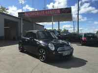 2008 MINI COOPER S convertible edition side walk gps mags cuir