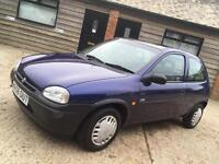 Vauxhall corsa 1.2 petrol low mileage ideal first cheap car