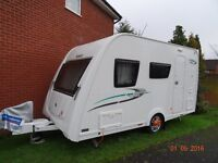Elddis Xplore 304 SE year 2014 . Includes a new Isabella Awning.