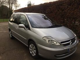 Citroen C8,2004,2LHdi,5gear manual,110KM,138000miles,MOT June 2017
