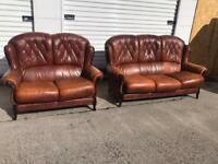 Rossini Italian leather harlequin sofas can deliver local
