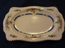 "JOHNSON BROTHERS OLD ENGLISH ""EASTBOURNE"" DESIGN tea-plates / rectangular cake or sandwich plate."