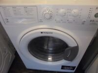 Hotpoint 8+6 kg washer n dryer almost new nice n clean free delivery and connect it