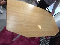 IKEA Drop leaf table and 2 chairs