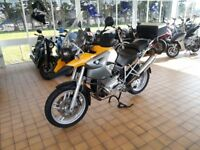 BMW R1200GS R 1200 GS 2005 Yellow