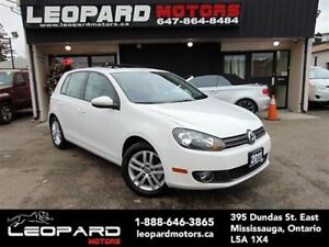 2011 Volkswagen Golf Highline,Leather,Sunfroof,Bluetooth*No Acci