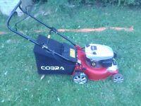 lawnmowwr petrol with grass basket 98cc