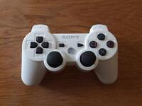 White PS3 Controller