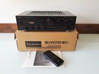 Technics SU-VX720 stereo integrated amplifier