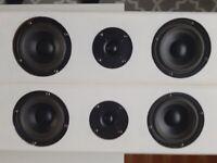 Floor standing loudspeakers