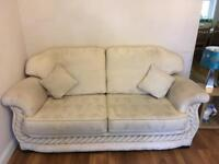 Free 3 seater and 2 arm chair sofa