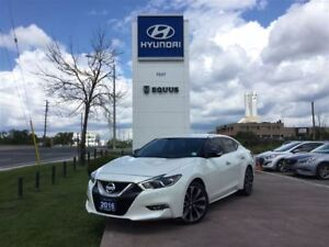 2016 Nissan Maxima SR - 300HP, 3.5L V6 ENGINE W/ PADDLE SHIFTERS