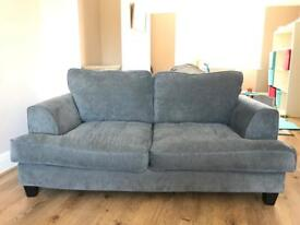 SSTC 2 Seater and 3 Seater Grey Sofas SSTC