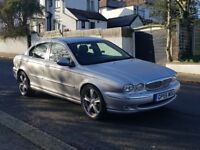 JAGUAR X-TYPE 2L DIESEL,EXCELLENT RUNNER ,VERY GOOD CONDITION ,LONG MOT, LOOKS AND DRIVES LIKE NEW!