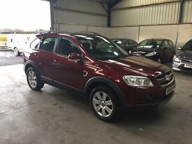 08 Reg Chevrolet Captiva 2.0 vcdi ltx 7 seater automatic 4x4 leather guaranteed cheapest in country