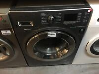 SAMSUNG 9/6 KG GRAPHITE WASHER DRYER ECOBUBBLE