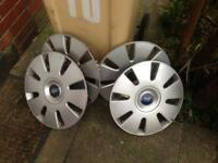 Ford 16 inch wheel trims focus modeo connect galaxy