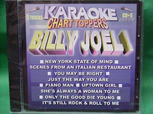 Billy Joel   Karaoke Chart Toppers   03   cdg   Karaoke songs   Billy Joel   NEW
