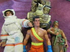 Action man type figures