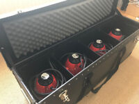 Genuine Pro Red Head Tungsten Photographic Studio Lights x4