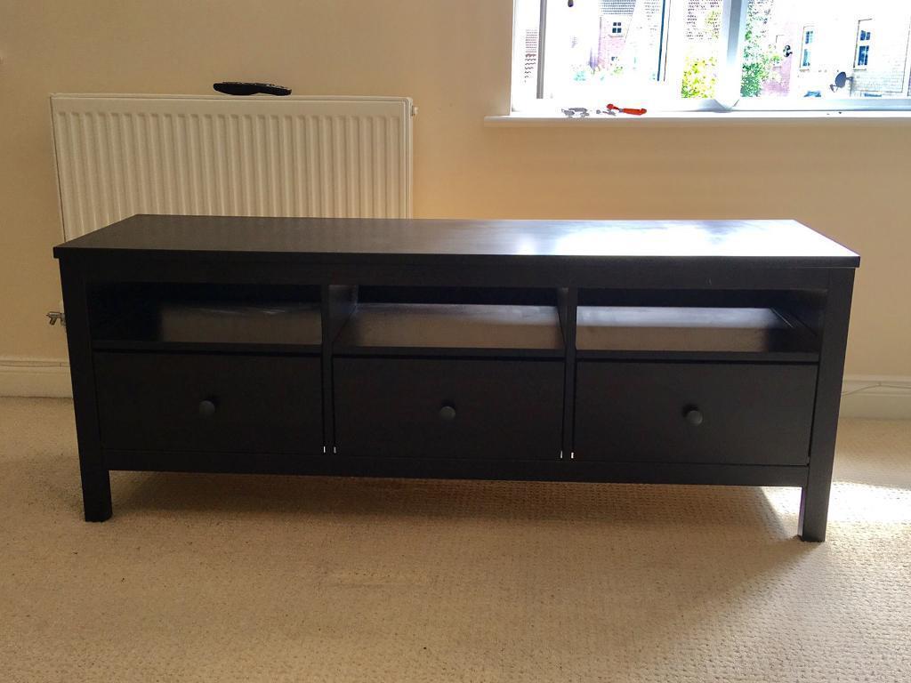 ikea hemnes tv bench in kempston bedfordshire gumtree. Black Bedroom Furniture Sets. Home Design Ideas