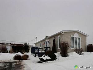127 000$ - Maison mobile à vendre à Ste-Luce (Luceville)