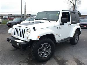 2015 Jeep Wrangler SAHARA**LEATHER**NAVIGATION**BLUETOOTH**
