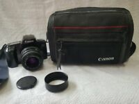 Canon 1000fn slr 35mm zoom full frame film camera bag hood retro pre digital bundle