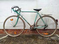 Vintage Motobecane Bike incl. chain lock and tools