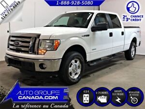 2011 Ford F-150 4WD SuperCrew 145'' XLT