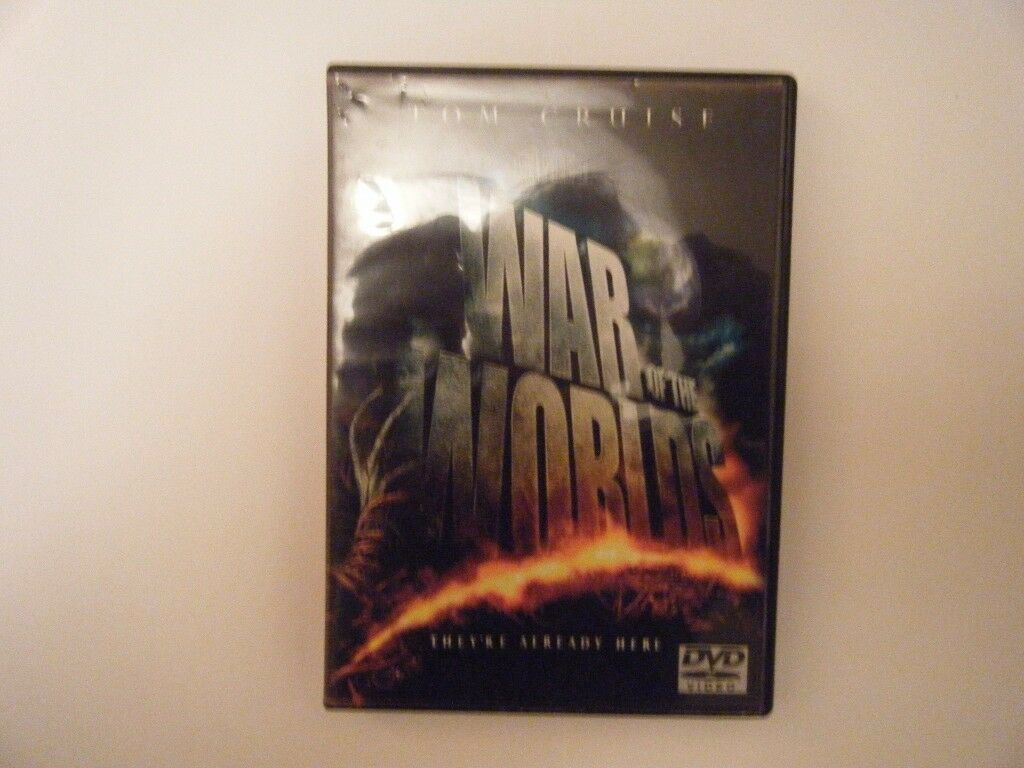 War of the worlds. DVd . Used in very god condition.