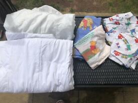 Toddler duvet and set