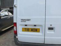 Transit hi top lwb and rwd 2.4 diesel