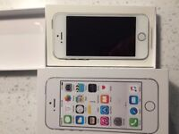 i Phone 5 S 16GB Silver New unused, Any Network.